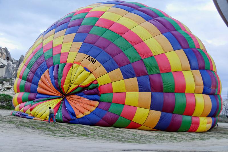 Passeio de balão na Capadocia