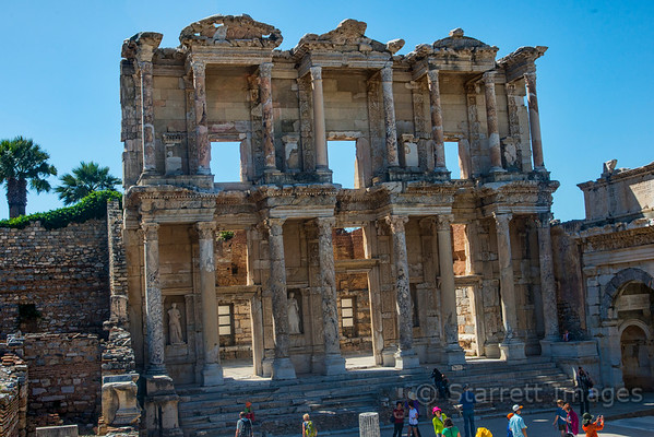 Library of Celsus, the roof has collapsed