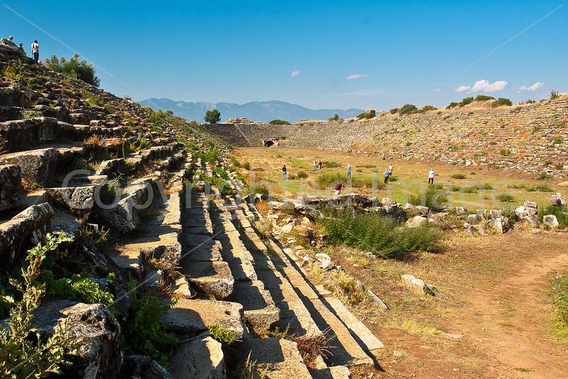Stadium for 30000 in Aphrodisias