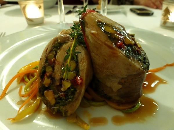 Chicken Rolls at Pasazade Restaurant, Istanbul