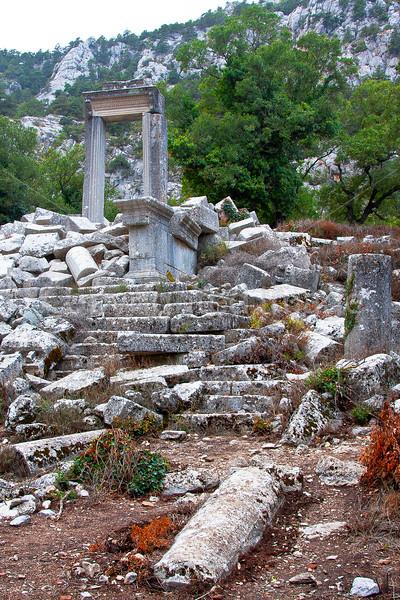 Ruins in Termessos