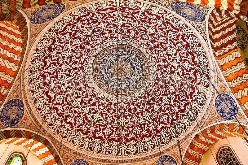 Hagia Sofia mausoleum ceiling
