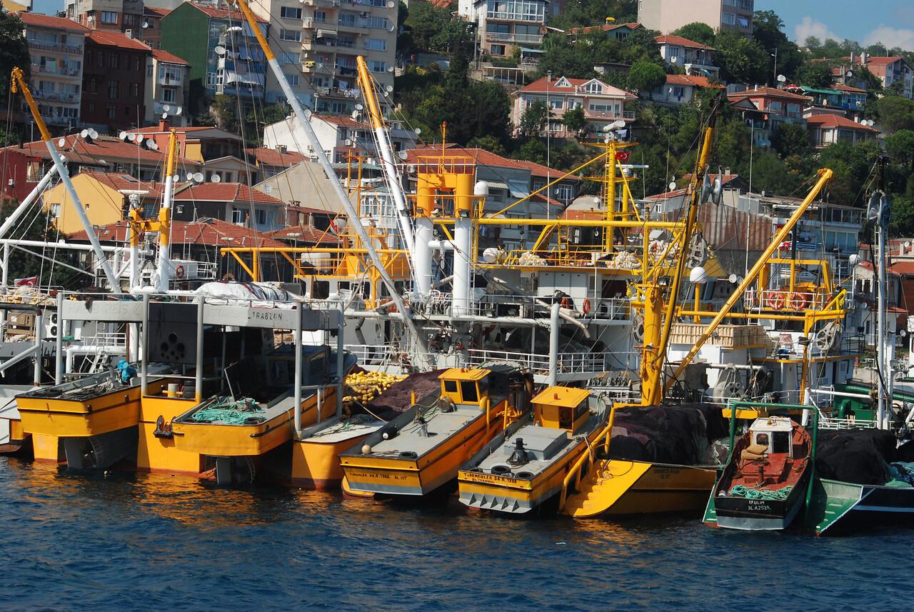 Boats on the Bsophorous