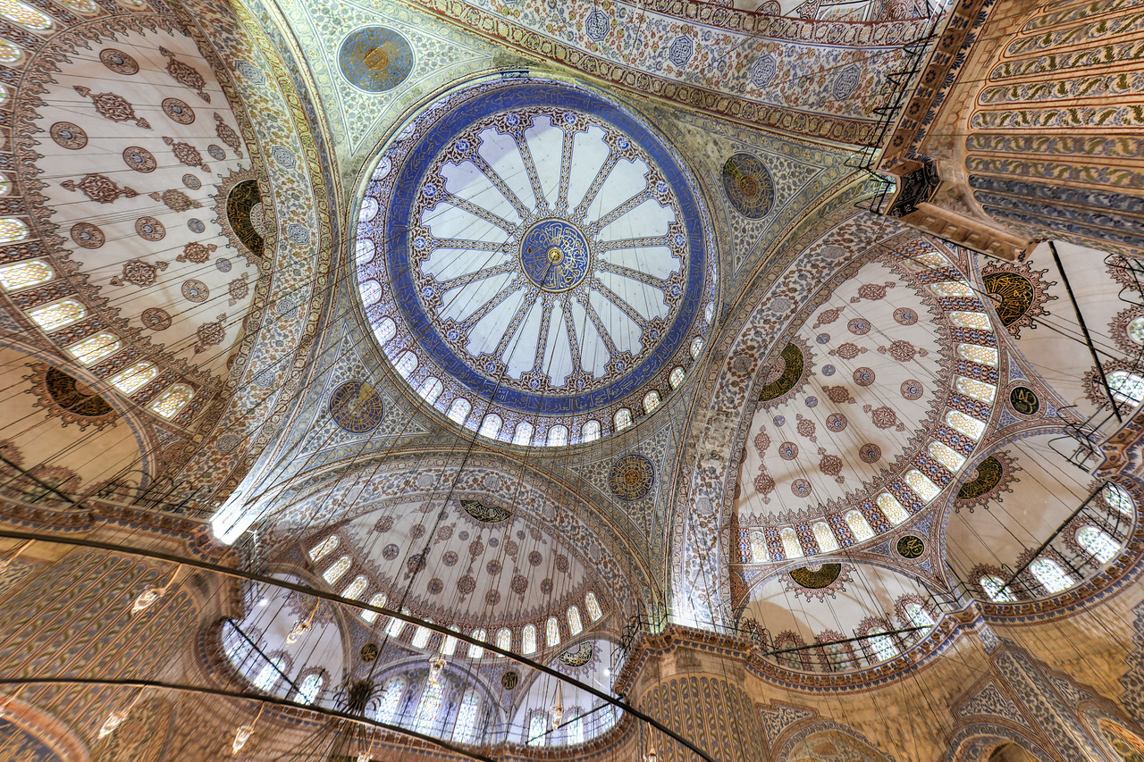 Blue Mosque Interior - Istanbul, Turkey