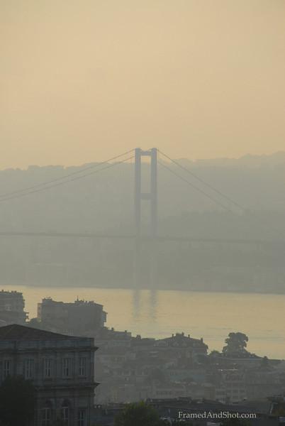 Sunrise in Istanbul.