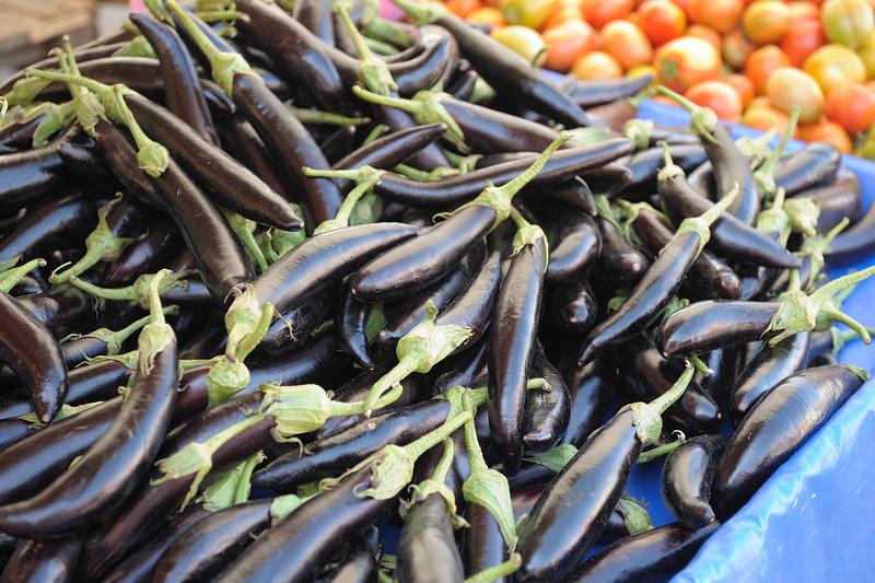 Eggplant at Market