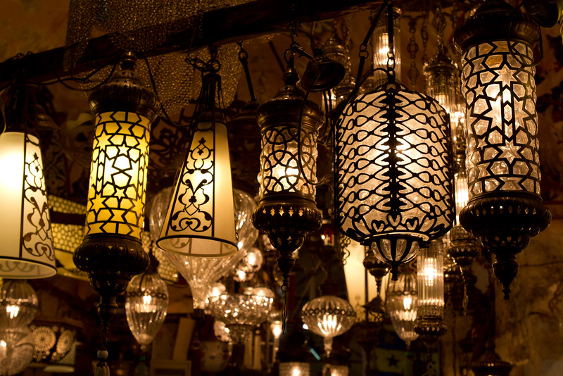 A Light Shop at the Grand Bazaar