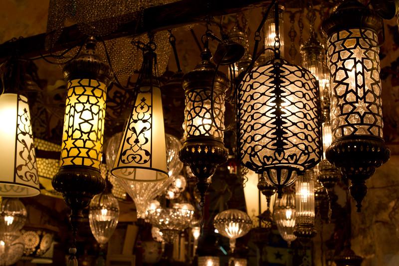A Light Shop at the Grand Bazaar