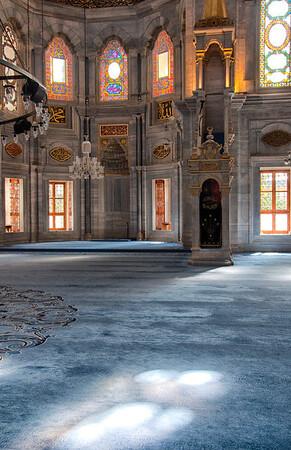 Mosque Interior, Istanbul