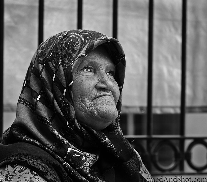 Old Lady in Ankara