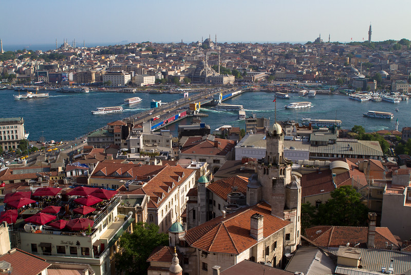 The Golden Horn from Galata Tower