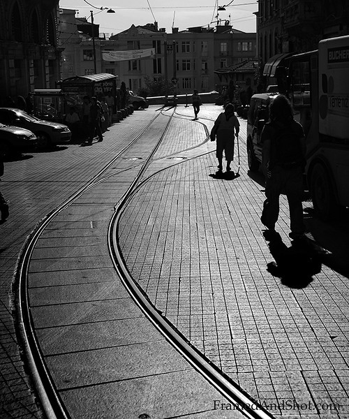 Road in Istanbul