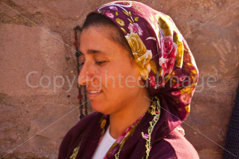 Woman in Ankara