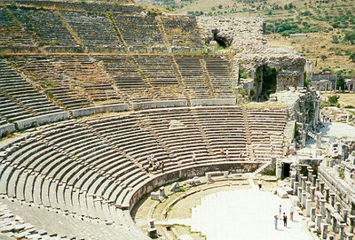 Ampitheater -- Ephesus, Turkey