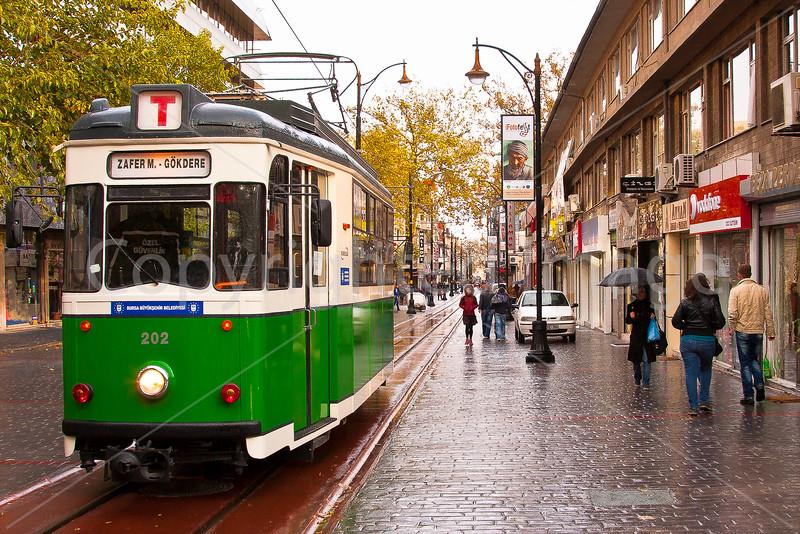 Cumhuriet Cadessi tram Bursa