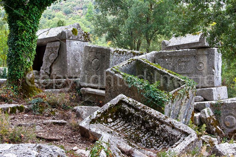 Sarcophogi at Termessos
