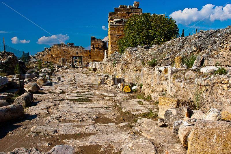 Street in Hierapolis