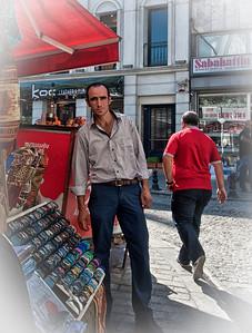 Street Merchant, Istanbul