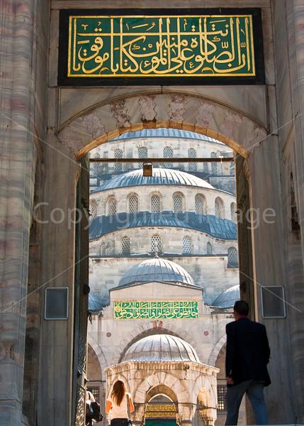 Cortyard Entrance-Blue Mosque