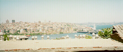 Bosphorus -- Istanbul, Turkey May 1999.  Photos from my backpacking trip around East Europe.