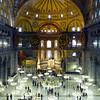 Hagia Sophia interior (Istanbul)
