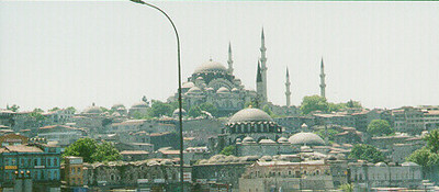 Suleymaniye Mosque -- Istanbul, Turkey May 1999.  Photos from my backpacking trip around East Europe.