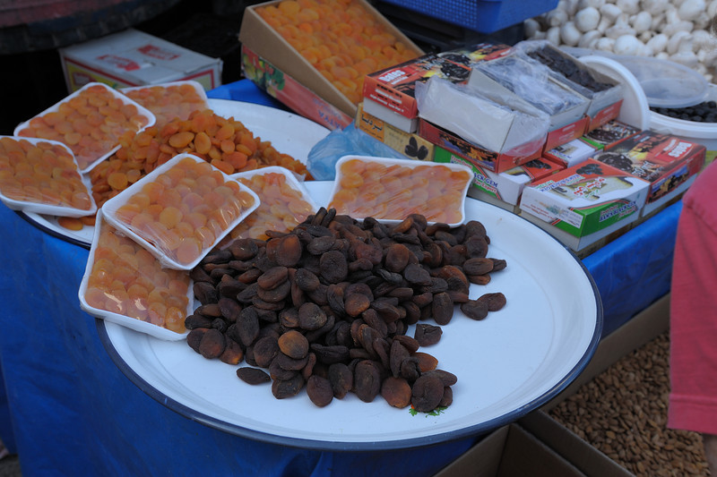 Dried Apricots  at Market