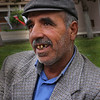 Kurdish man in the park
