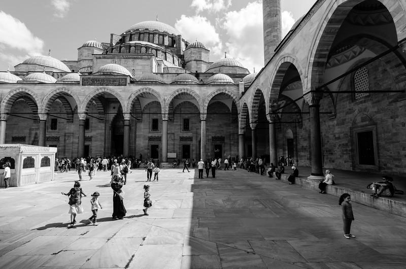 Süleymaniye Mosque | Istanbul, Turkey | August 2014