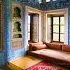 Simple bedroom in the Topkapi Palace