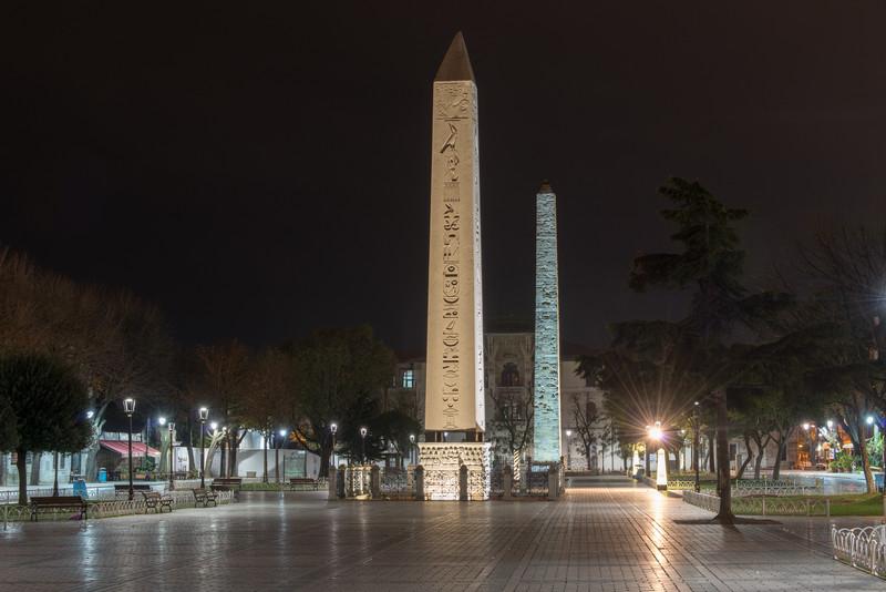 The Obelisk of Tuthmosis III, Istanbul, Turkey.