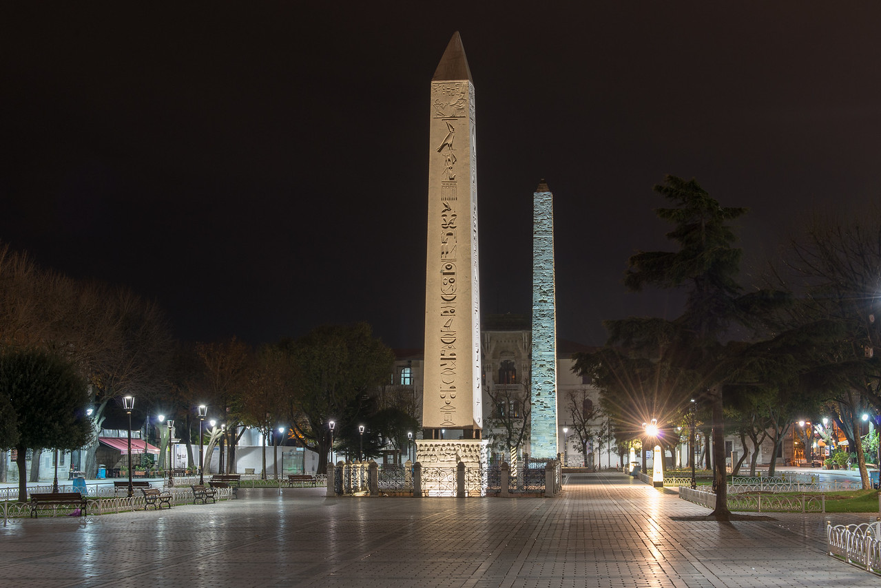 The Obelisk of Tuthmosis III, Istanbul, Turkey.