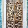 One of many handmade doors inlaid with mother of pearl throughout the Topkapi Palace