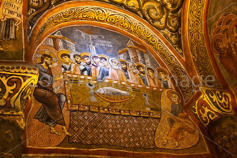 Painting in the Dark Church