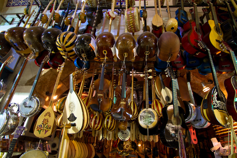 Music Shop in the Grand Bazaar