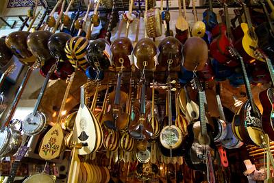 Music Shop in the Grand Bazaar