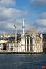 A very nice mosque on the Bosporus. Behind it is one of the two bridges over the Bosporus.<br /> IMG_3927