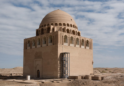 Merv: Mausoleum of Sultan Sanjar (1157)
