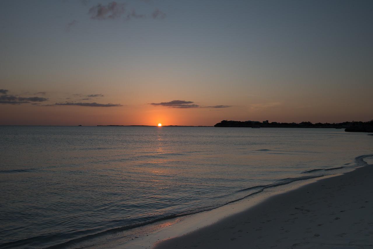 Sapodilla Bay Sunset
