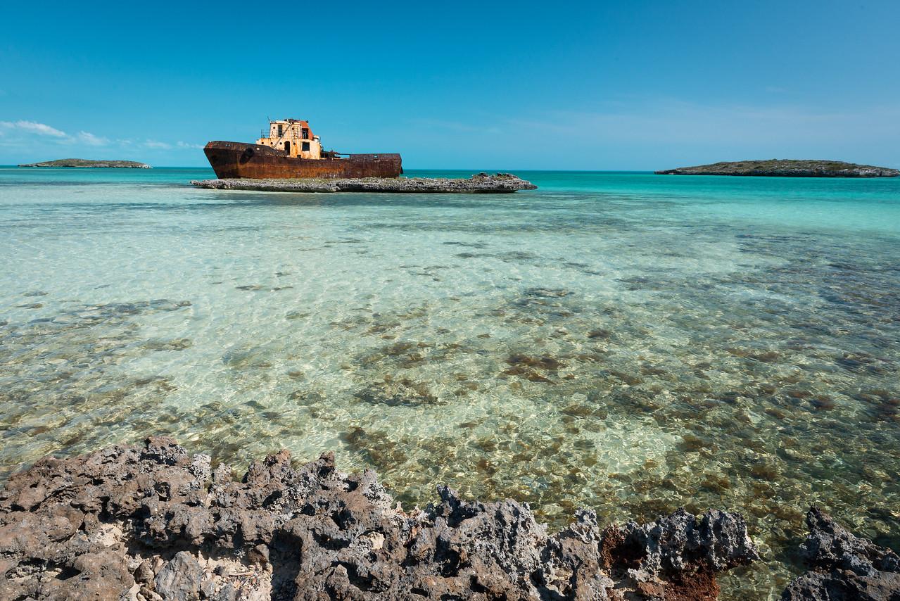 Ship Wreck Near Five Cays