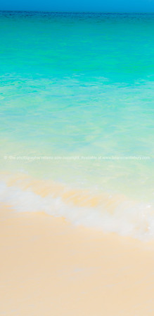 Caribbean colours. White sand to turquoise water. Prints & downloads.