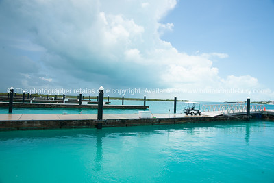 Marina, providenciales, Turks & Caicos. Empty, not a single boat, a legacy of the 2007-2012 global financial crisis. Prints & downloads.