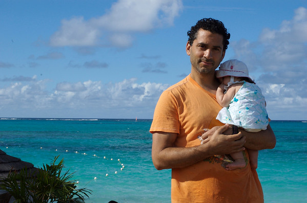 Mikail and Cyane and turquoise waters