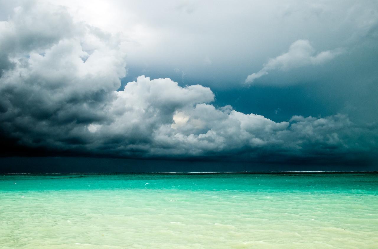 Storm over Blue Hills Beach