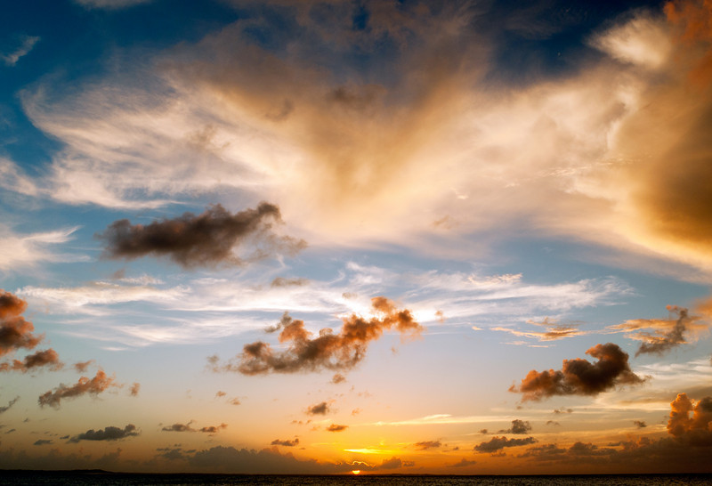 Sunset at Pelican Beach