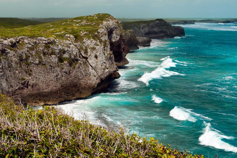 Mudjin Harbor Cliffs, Middle Caicos