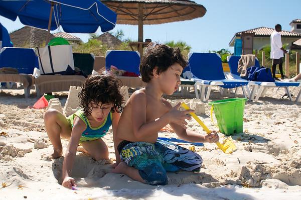 Building sand castles back on the beach