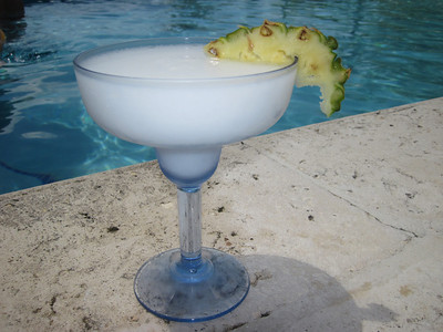 Pina colada No. 16 from the nonstop production line.