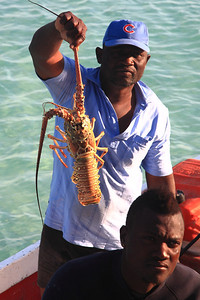 Would you buy a lobster from this guy? ...