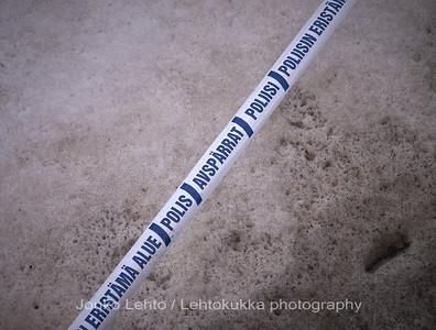 Turku, Åbo. Kevät - Spring. Rikospaikka: Kuoleva talvi. Crime scene: Winter dying.